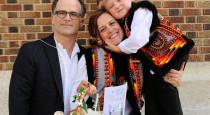 2 Адріян з дружиною та сином1