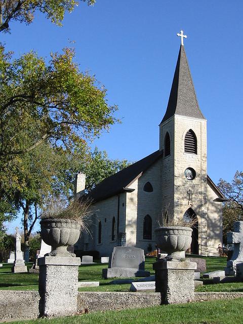 St. James Sag Church and Cemetery 1