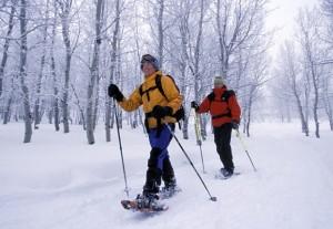 11 snowshoeing