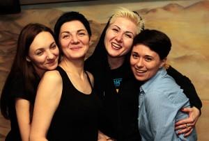 Волонтерки Марина Соколова, Єлена Мерко, Кетрін Олховик, Юля Волкова