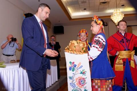 Kyiv Mayor Vitaliy Klitschko's visit to Chicago's Ukrainian community.
