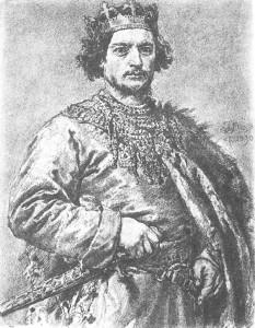 Король Польщі Болеслав ІІ Хоробрий, онук Великого київського князя Володимира Святославича