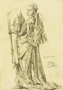 Святослава Казимирівна, онука Великого київського князя Володимира Святославича