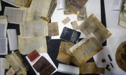 П'ять віднайдених архівів Служби безпеки ОУН представлені у музеї «Тюрма на Лонцького» у Львові.
