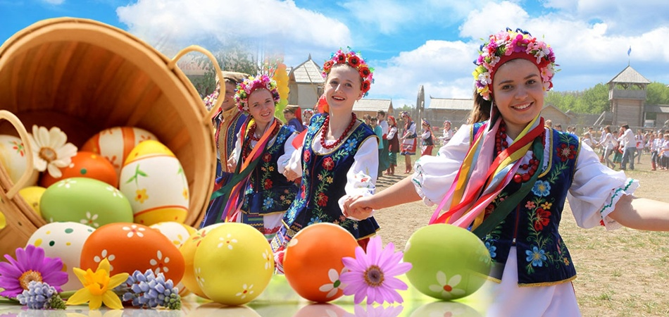 easter in ukraine Deascription of ukrainian easter eggs and folk habits concerned wih easter in ukraine the symbolism of the ukrainian easter egg adapted from the original story of.