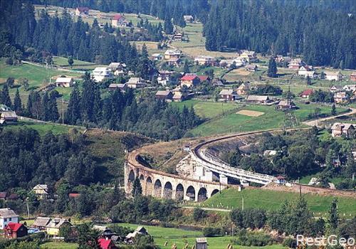 unikalnye-sooruzheniya-arochnyy-most-viaduk-v-vorokhte-most-viaduk-vorokhta-ivano-frankovsaya-obl-ukraina