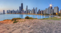 8 downtown-chicago-from-north-beach-twenty-two-north-gallery