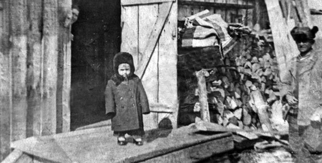 1955 год. Орехов Яр. Алимов Алим.