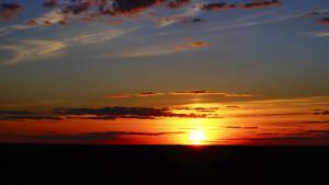Sunset at Bezvodivka
