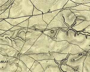 The map 1861