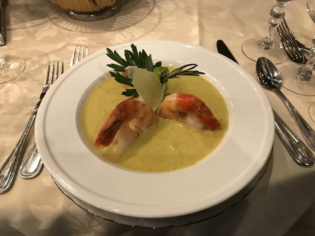 суп пюре из брокколи с криветками1