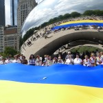 В День незалежності України над Чикаго замайорів жовто-блакитний прапор