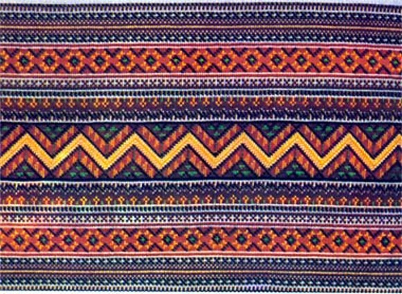 Hutsul embroidery pattern