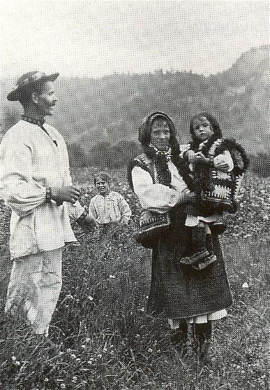 Hutsul family (1920s)