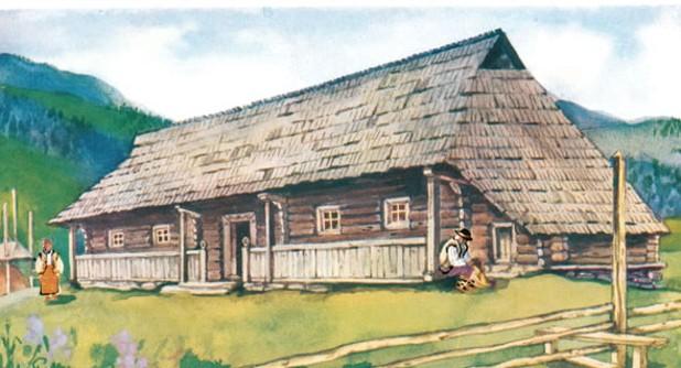 Hutsul house