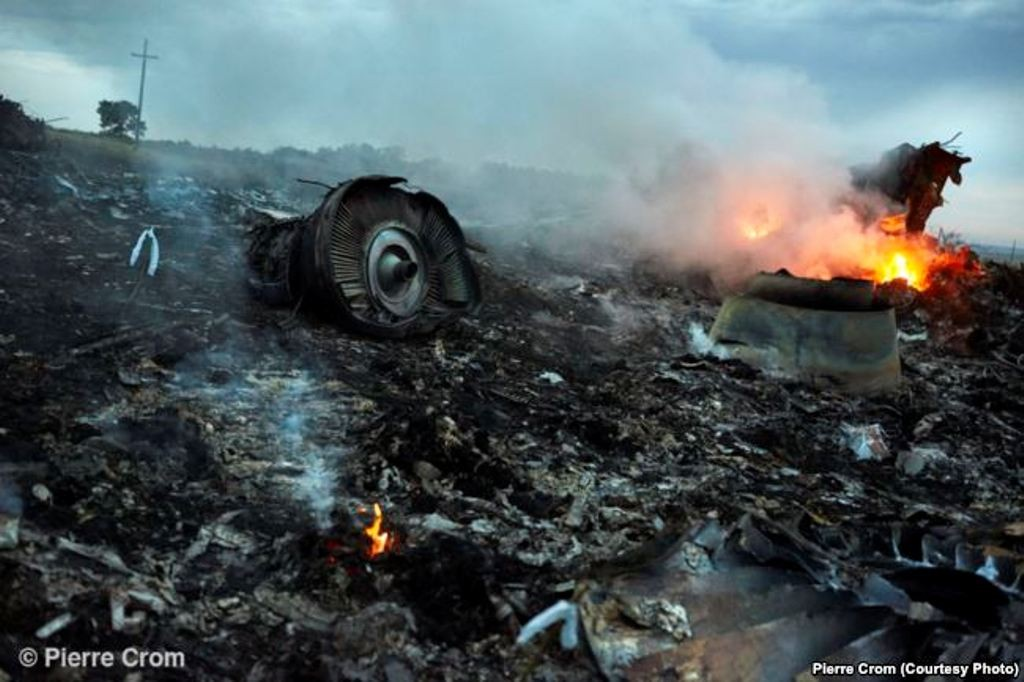 Grabovo, July 17, 2014 - Flight MH17, traveling from Amsterdam to Kuala Lumpur, was shot down by a surface-to-air missile from an area under control of Russian backed separatists. None of the 298 passengers and crew members survived.