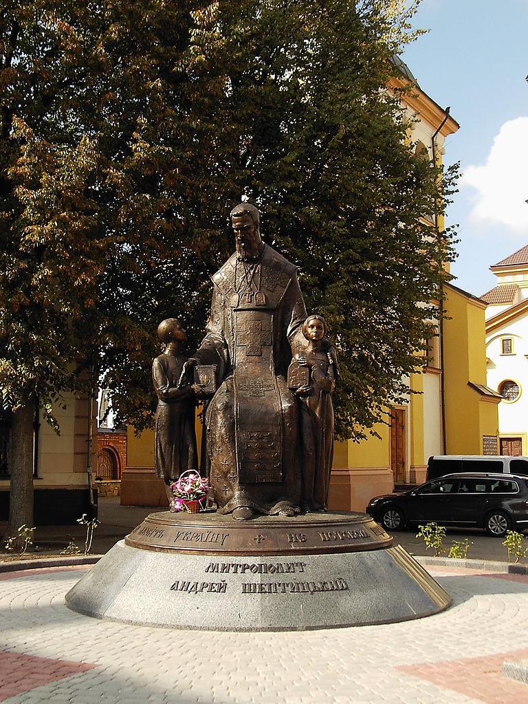 Пам'ятник_Митрополиту_Андрію_Шептицькому._м._Івано-Франківськ