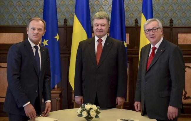 глава Єврокомісії Жан-Клод Юнкер і президент Європейської Ради Дональд Туск