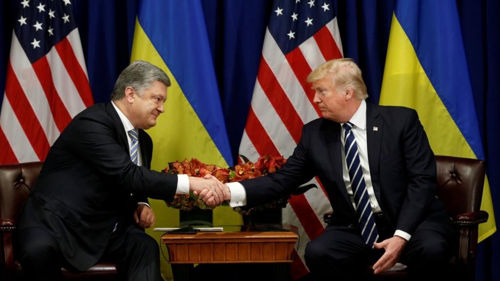 20-21 вересня Порошенко зустрівся з Трампом у Нью-Йорку