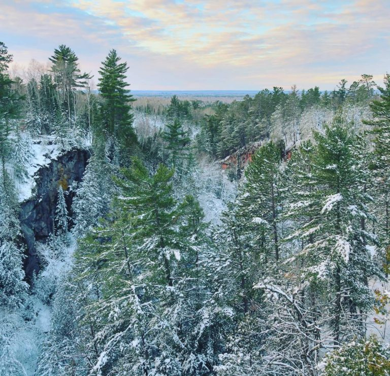 Big Manitou Falls at Pattison State Park (Superior)
