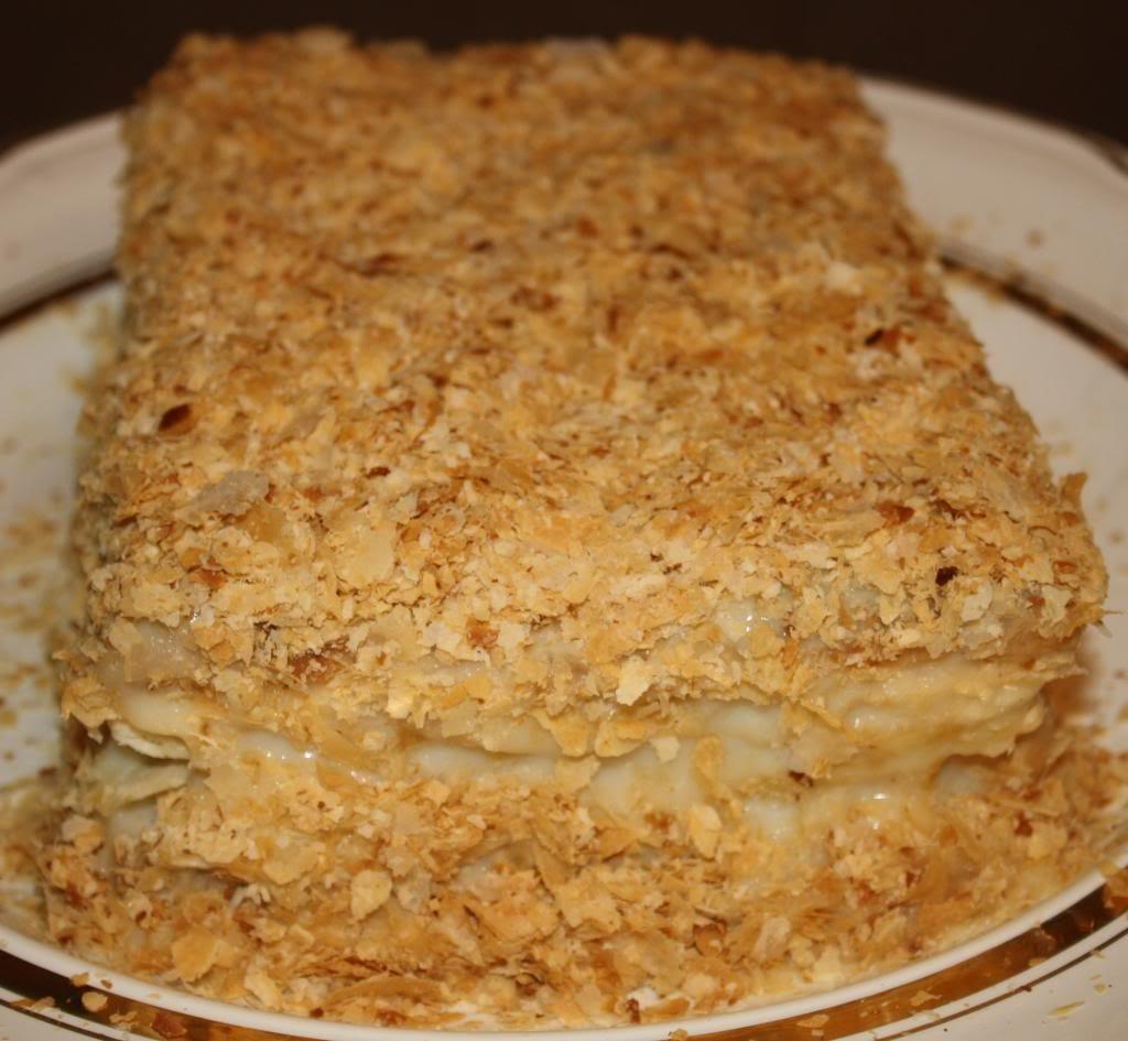 Как приготовить наполеон торт в домашних условиях фото пошагово 29