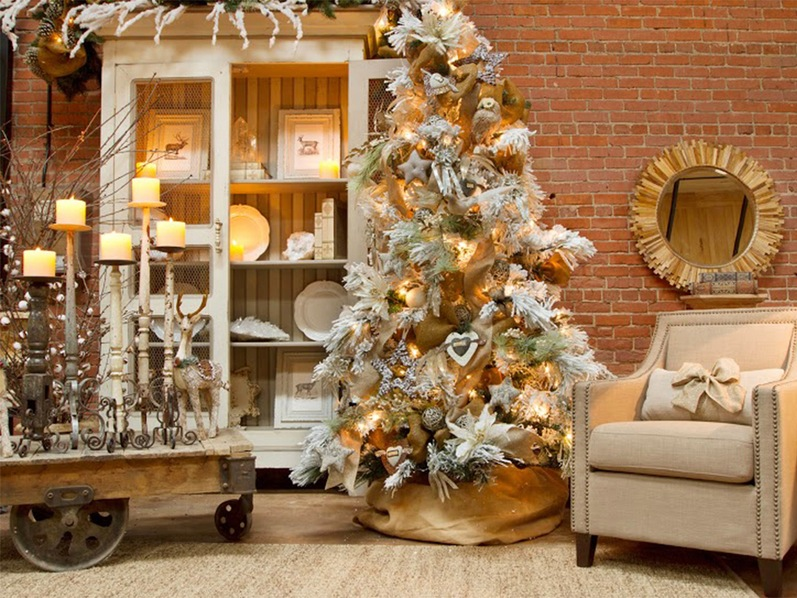 christmas-decoration-and-design-for-joyful-living-room-with-white-gold-trees-on-decorating-ideas-candelight_christmas-decoration-ideas-for-living-room_ideas_studio-apartment-desig