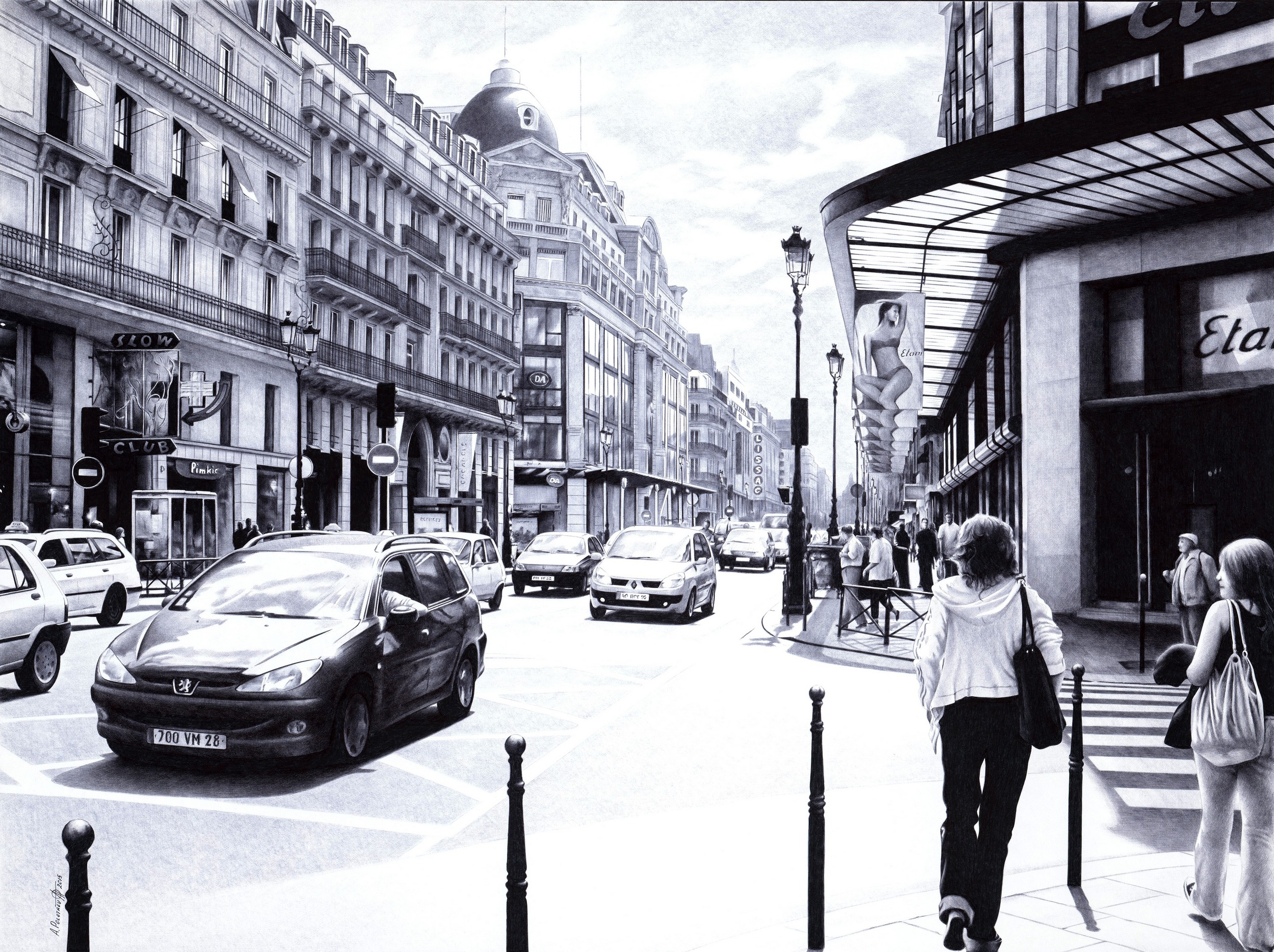 A-POLETAEV-Parisian_Street-SCAN-SOLD