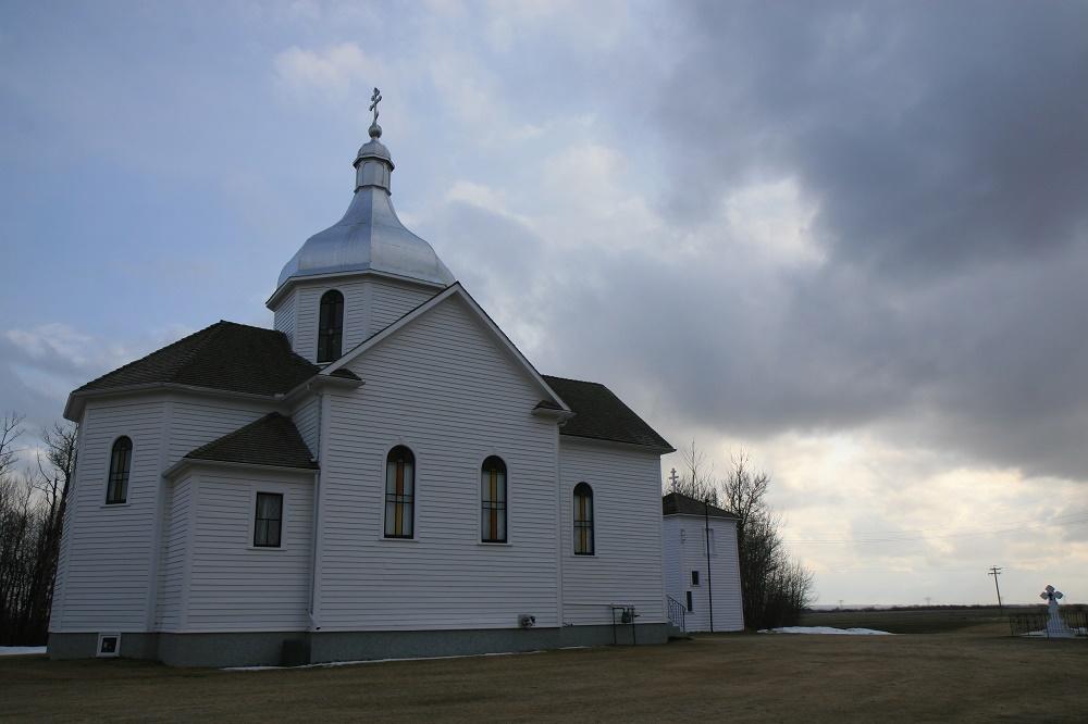 Російська православна церква Преображення, Стар-Една, Альберта. Друга церква парафії, 1913 року.