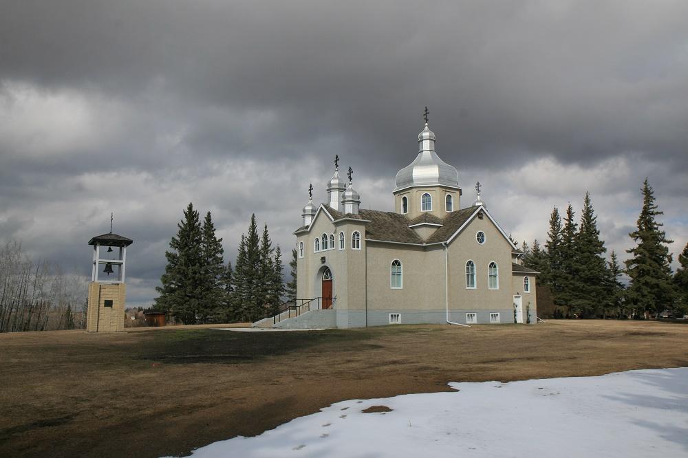 Українська православна церква св. Володимира, 1937 року, містечко Васкетнау.