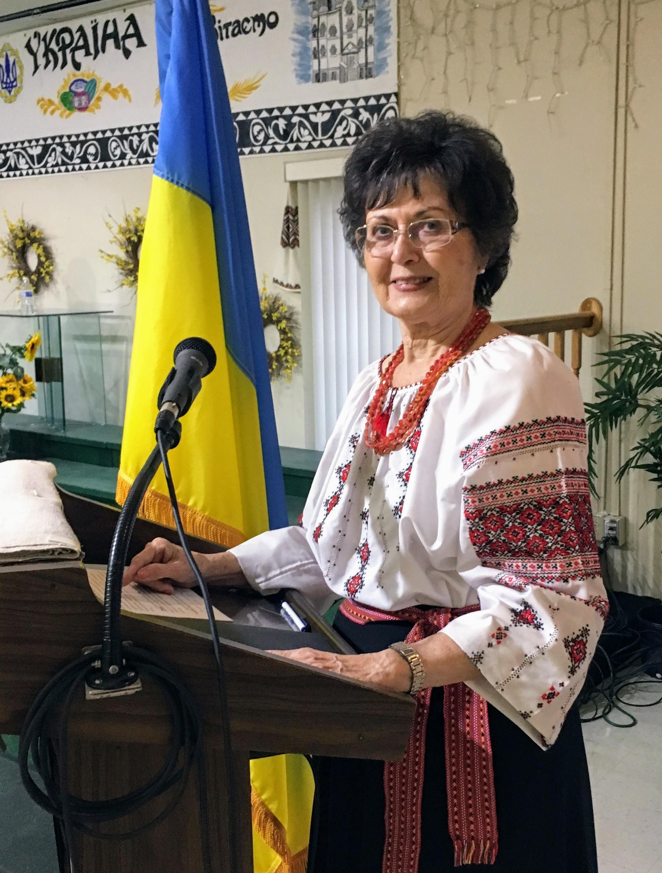 проф. Віра Боднарук, голова Громадського Комітету, Норт Порт, Флорида