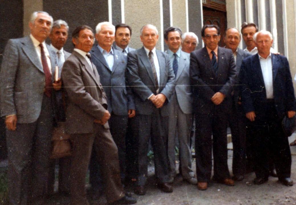Зустріч колишніх учнів Хустської гімназії 1992 року