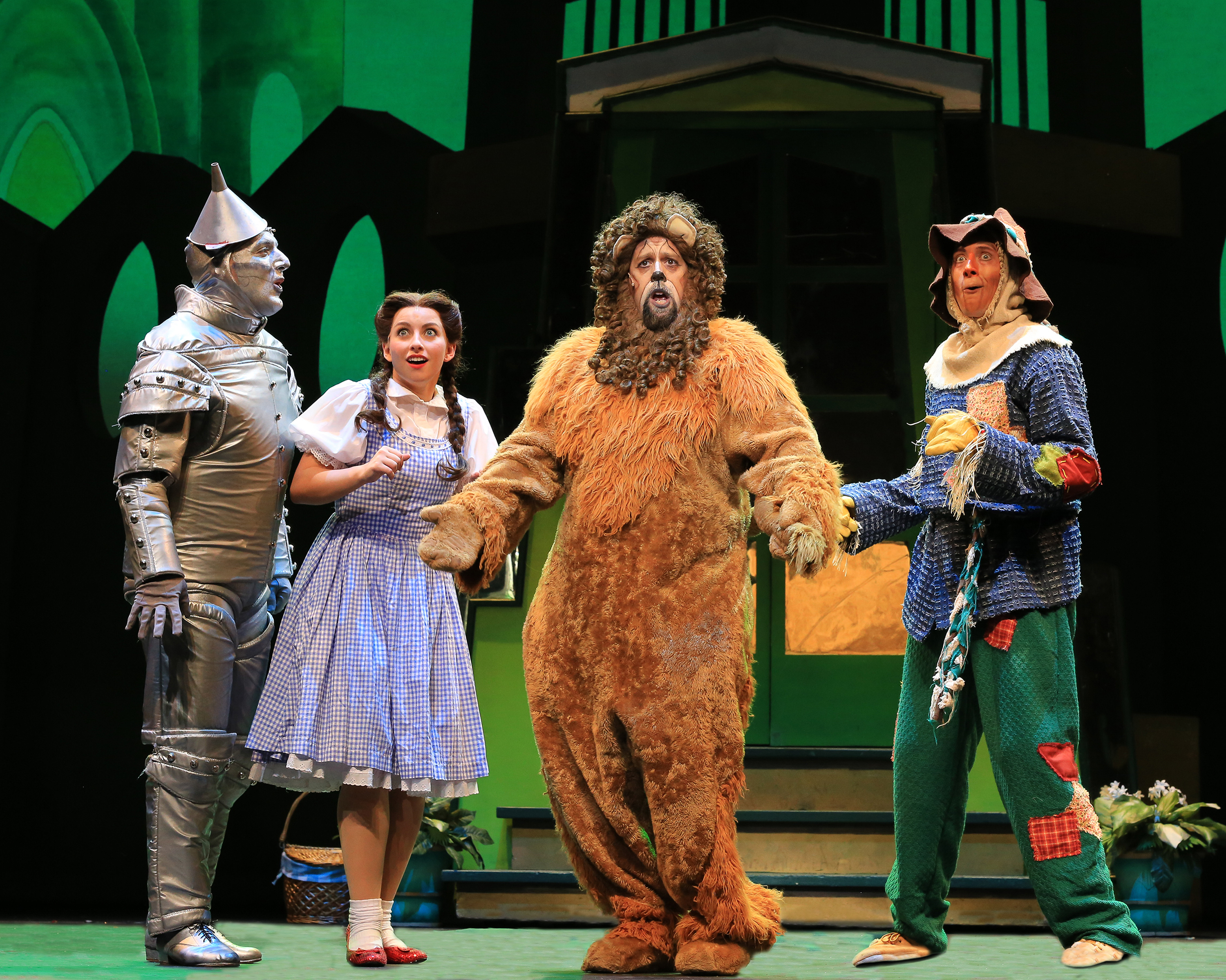 The Wizard of Oz - Four Friends in Oz