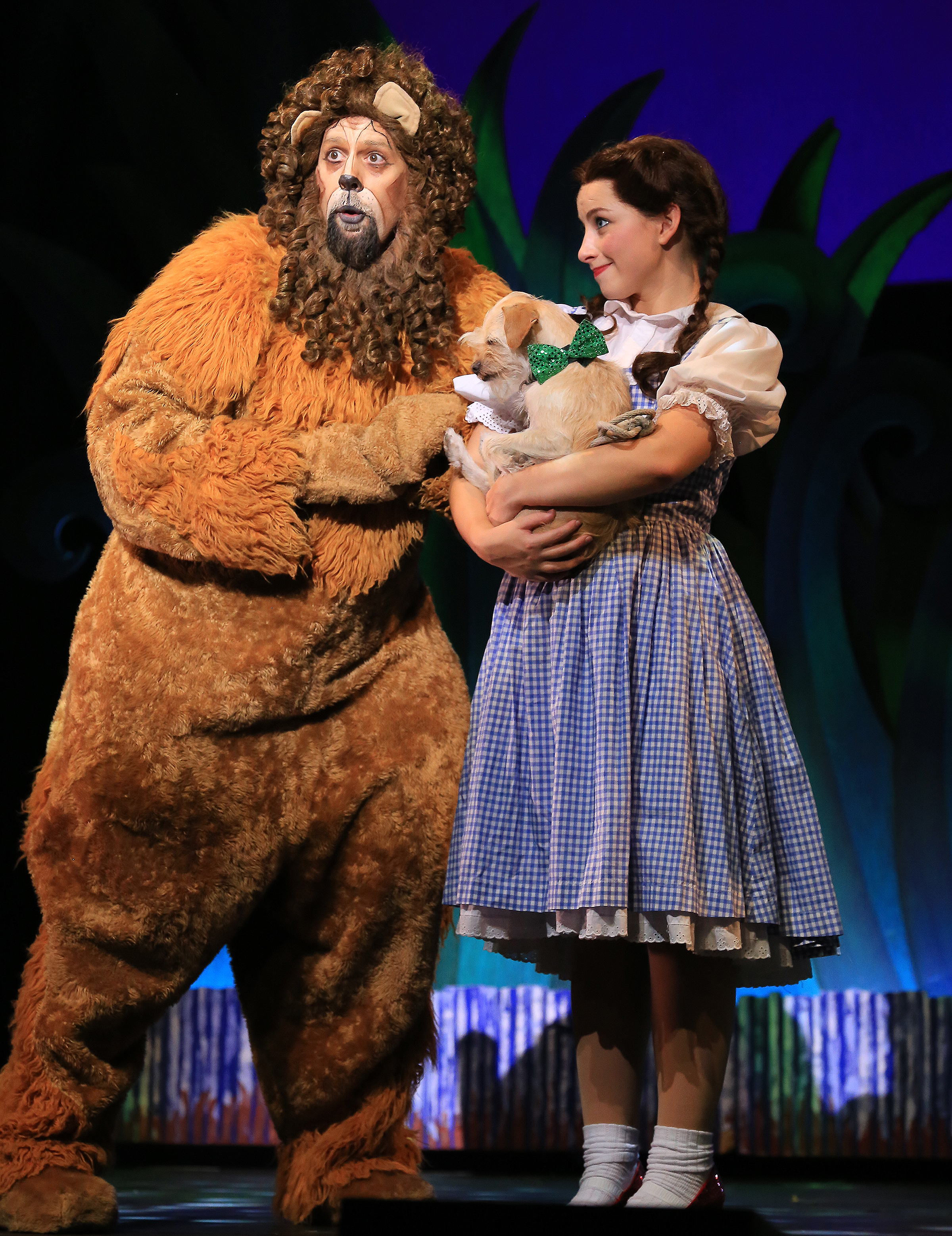 The Wizard of Oz - Lion and Dorothy