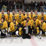 Українська Ніч-2019: канадські хокеїсти вийшли на лід в синьо-жовтих сорочках з тризубами  (ФОТО, ВІДЕО)